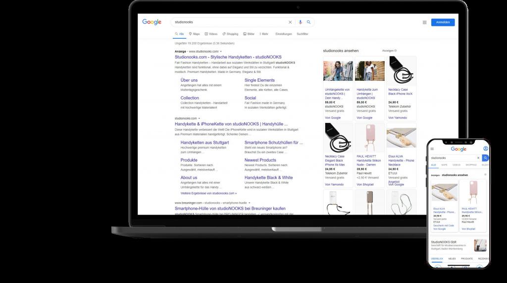 SEA Agentur Stuttgart - Beratung und Betreuung von Google Ads Kampagnen
