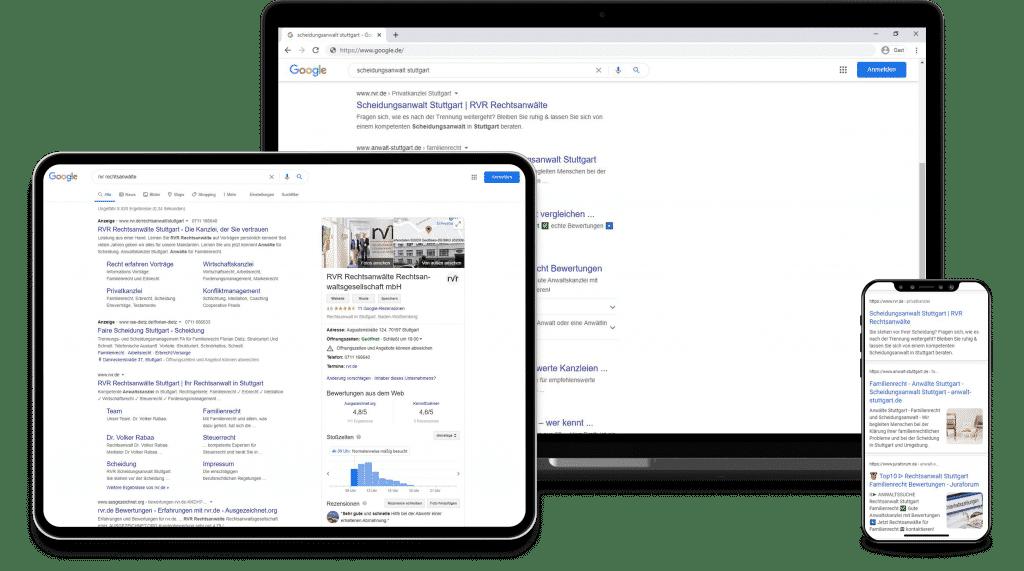 SEO Agentur Stuttgart - Suchmaschinenoptimiert für Ihre Website