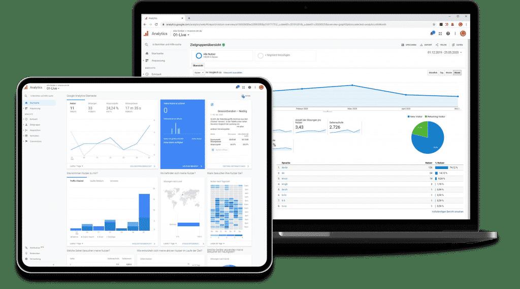 Google Analytics Agency Germany - Data Analysis via Google Analytics