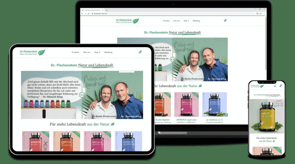 Web Design Agentur Stuttgart - Erstellung von Websites und Online-Shops