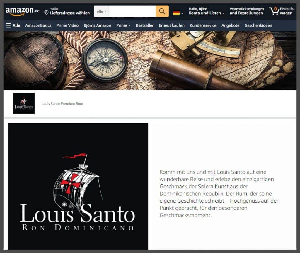 Markenshop Layout und Gestaltung