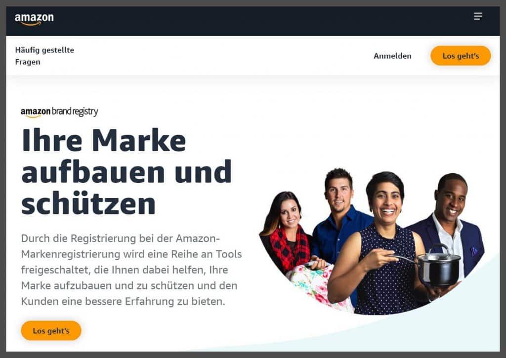 Amazon Store Erstellung 1