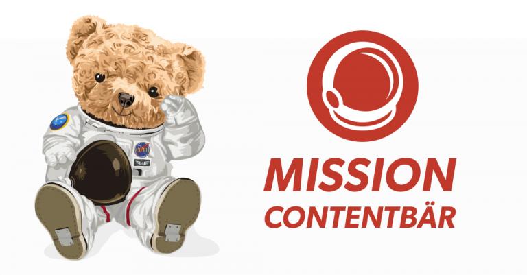 Contentbär SEO Contest 2021 - MISSION ON Contentbär