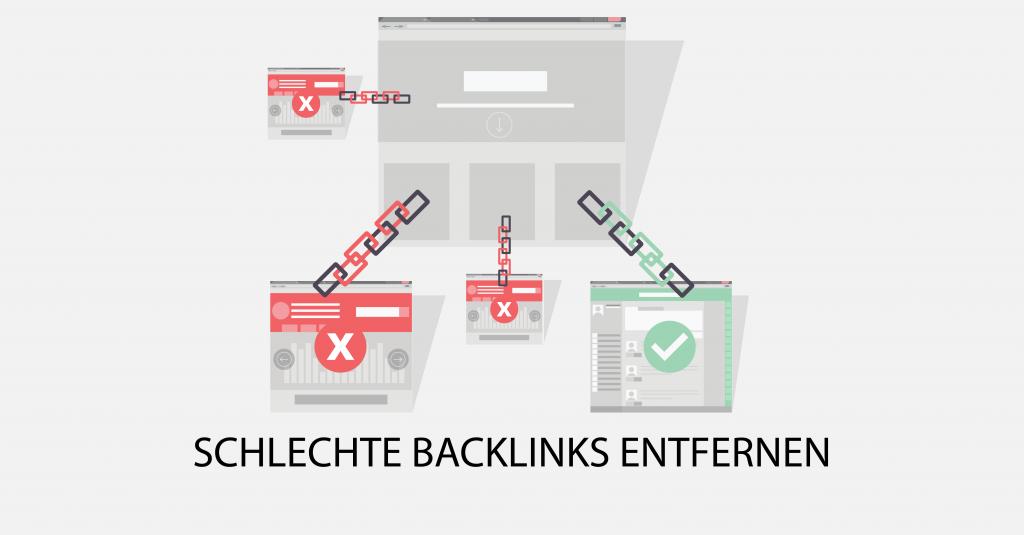 Schlechte Backlinks entfernen