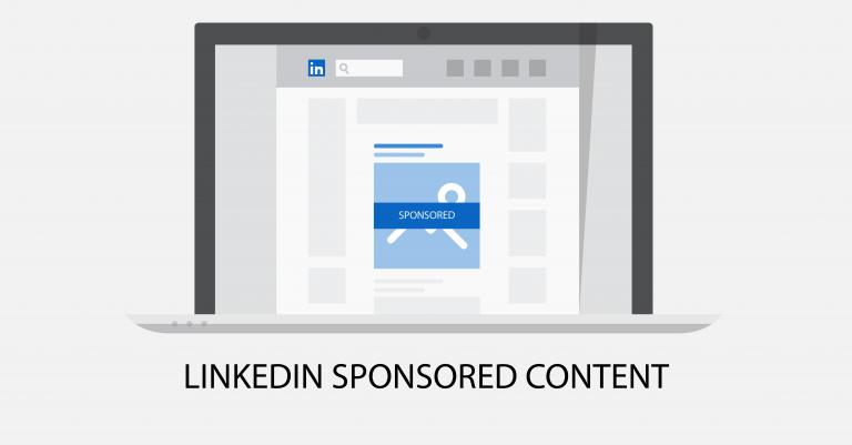 LinkedIN Sponsored Content Blogbeitrag