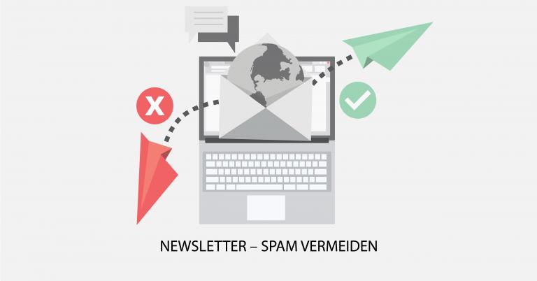 Newsletter Spam vermeiden