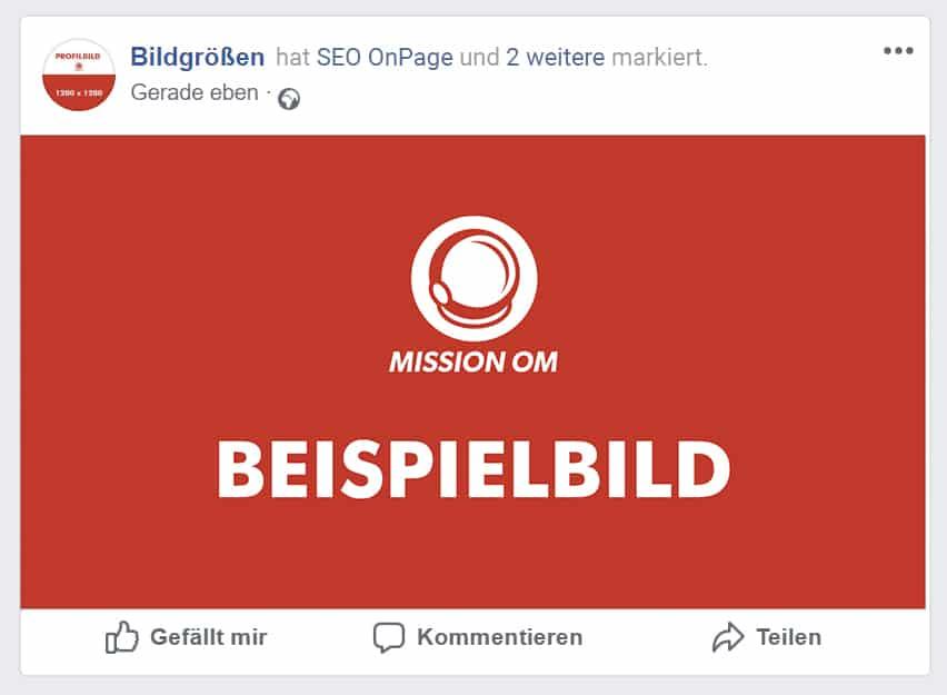 Facebook Produkt markieren
