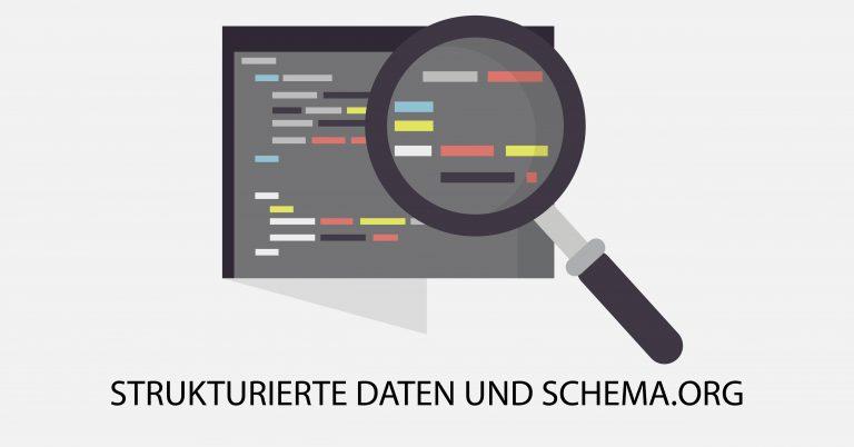 Strukturierte-Daten-Schema-Org