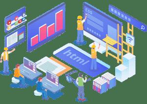 Erstellung der Unternehmenswebsite