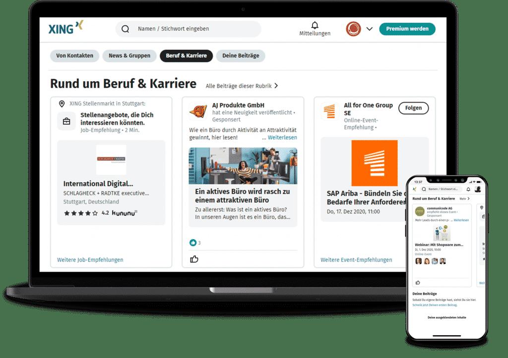 Xing Ads Agentur Stuttgart MISSION OM